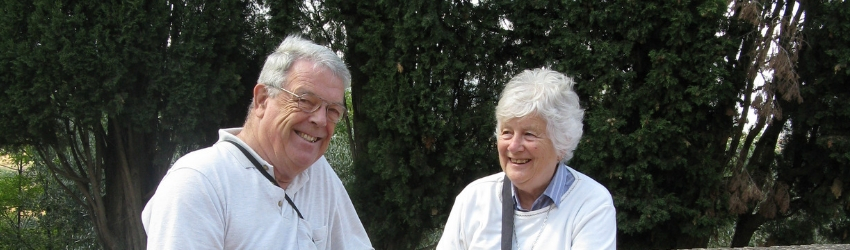 Barrie and Shirley Curtis