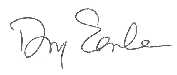 Doug Earle's signature
