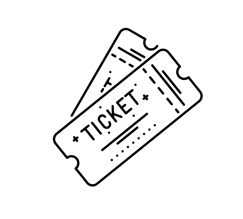 icon of two graphic tickets