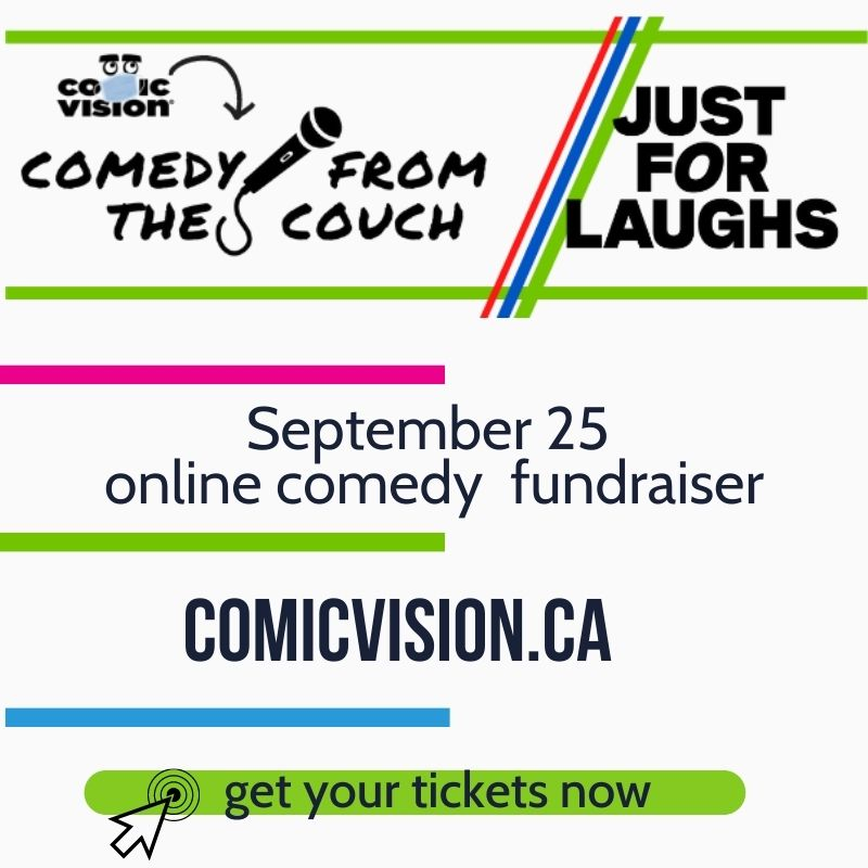 get your tickets now for comedy from the couch