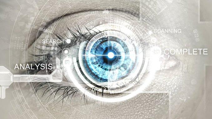 Image of a stylized eye